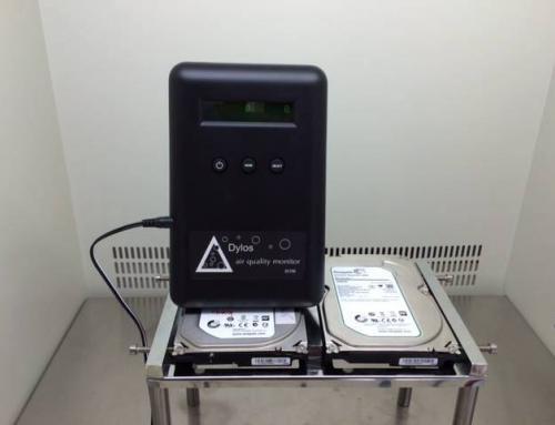 Μετρήσεις σκόνης στα εργαστήρια της Datamind