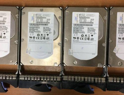 Ανάκτηση δεδομένων από συστοιχία RAID-0 (4 SAS δίσκοι)